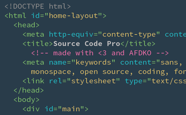 Using Source Code Pro Font With Visual Studio